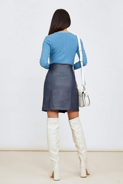Женская юбка Hochusebetakoe ST 181, синий