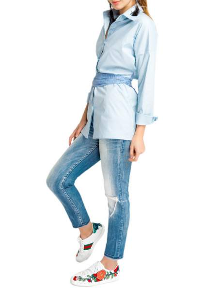Женская рубашка ELENA ANDRIADI SC2020, голубой