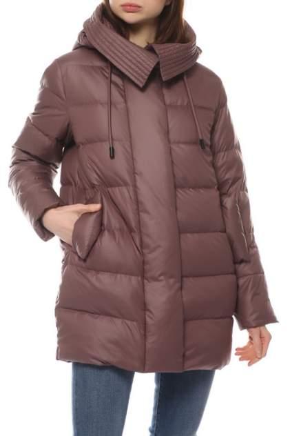 Пуховик женский La Reine Blanche 208631000 коричневый 50