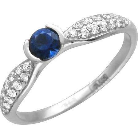 Кольцо женское Эстет 01К625180-1 р.19