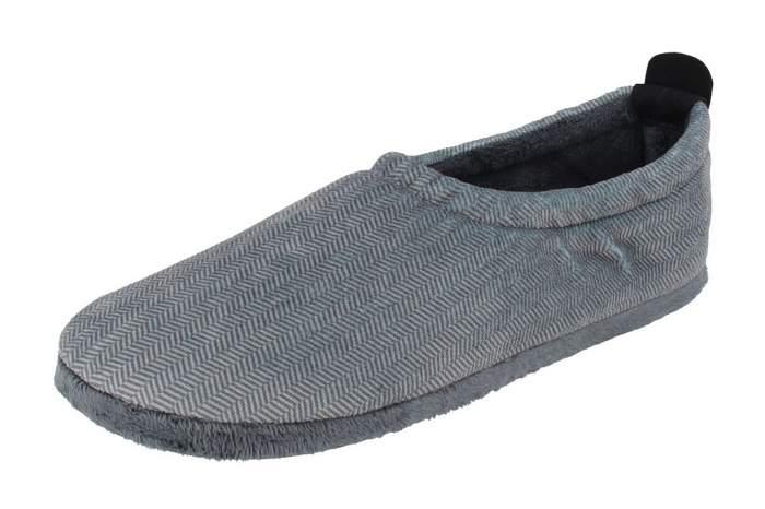 Мужские домашние тапочки de fonseca AOSTA M400RU, серый
