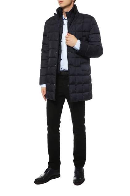 Пуховик-пальто мужской Madzerini Italo синий 56