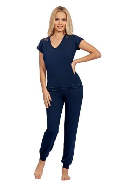 Пижама женская Donna Lena синяя XL