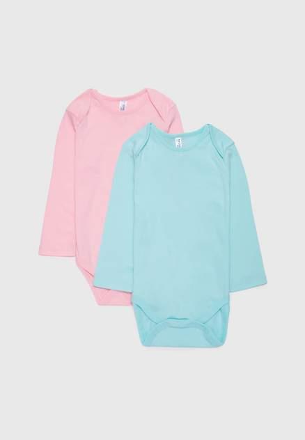 Боди детское Modis, цв. голубой, розовый