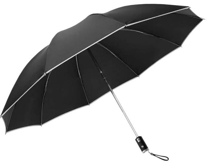 Зонт унисекс Xiaomi Zuodu Automatic Umbrella LED Black