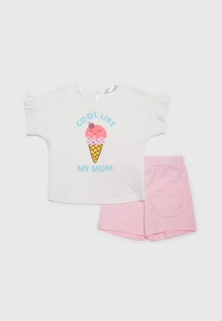 Комплект: футболка и шорты Modis M201K008361WCK р.80