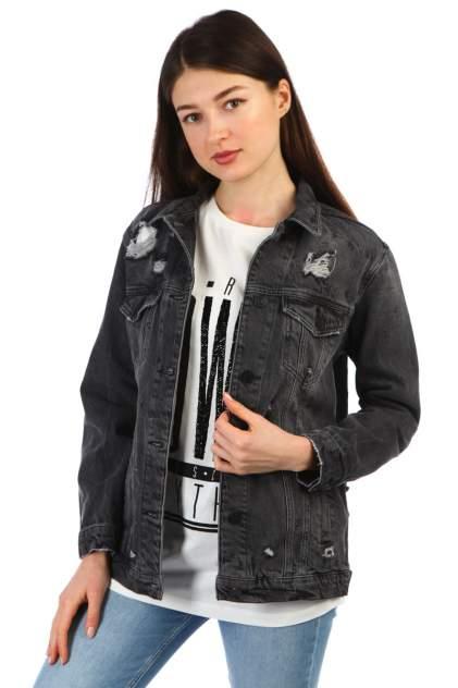 Джинсовая куртка женская A passion play SQ61176 серая S