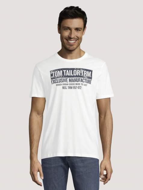 Футболка TOM TAILOR 1029297, белый