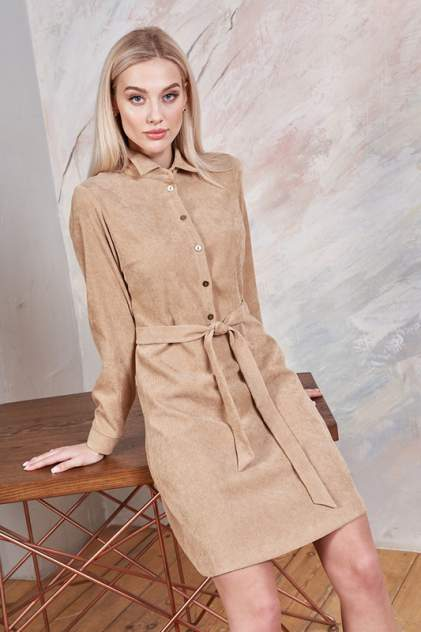 Платье женское Vittoria Vicci М1-20-2-0-00-52289 бежевое XS