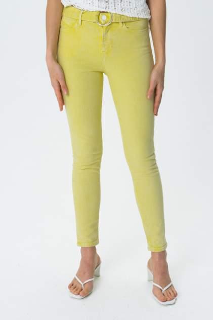 Джинсы женские Guess W02A29D3XX2 желтые 24