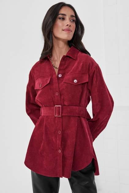 Рубашка женская Vittoria Vicci М1-20-2-3-02-6585-3 красная S