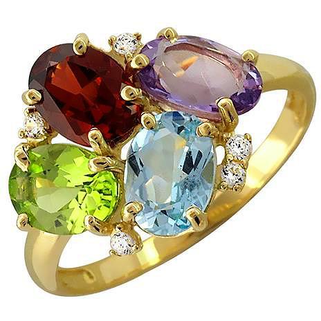 Кольцо женское Эстет 01К335667-2 р.16.5