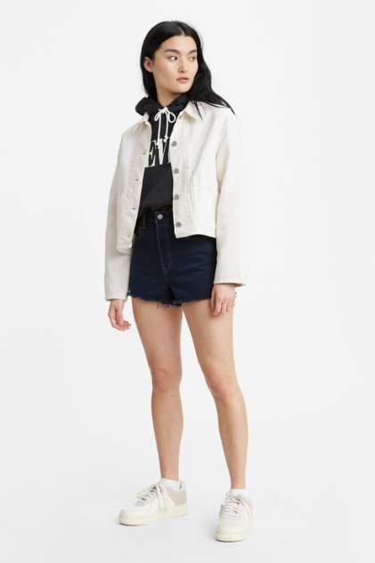 Джинсовые шорты женские Levi's 7787900310 синие 42-44