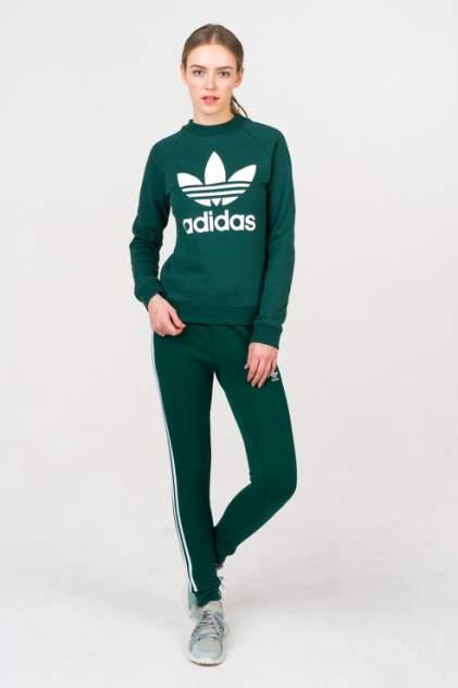 Толстовка женская Adidas DV2623 зеленая 44