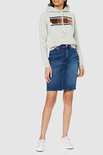 Женская юбка Tommy Jeans DW0DW08132, голубой
