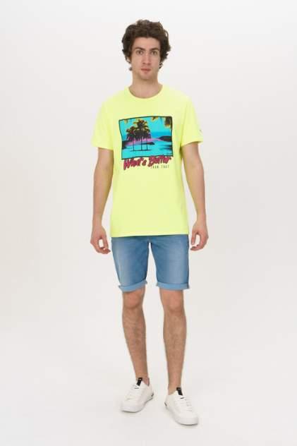 Джинсовые шорты мужские Guess M02D04D3ZP2 синие 46