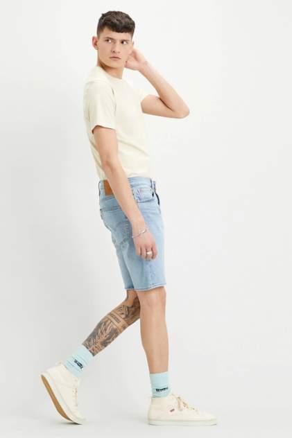 Джинсовые шорты мужские Levi's 3279200630 голубые 44-46