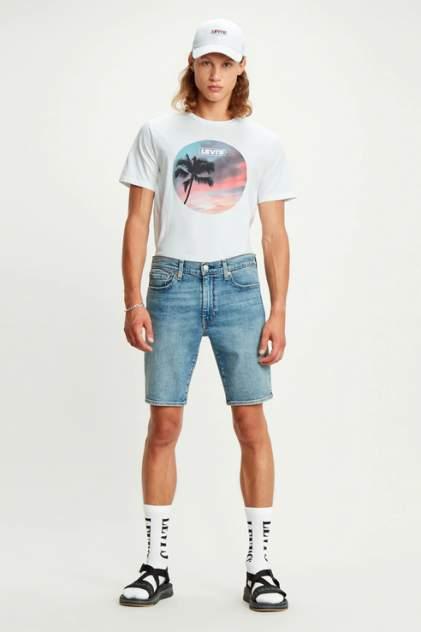 Джинсовые шорты мужские Levi's 3651501110 голубые 46