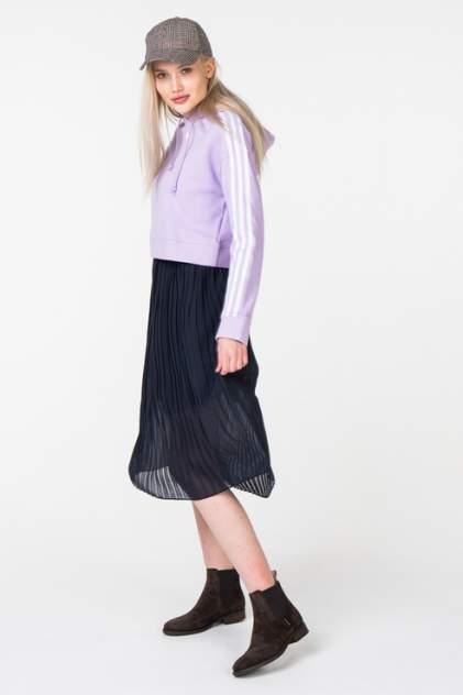 Толстовка женская Adidas DX2158 фиолетовая 40