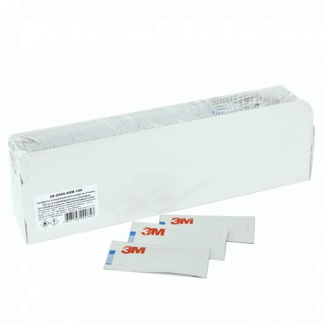 Салфетка для очков  3M 26-2000-00M-100 белая
