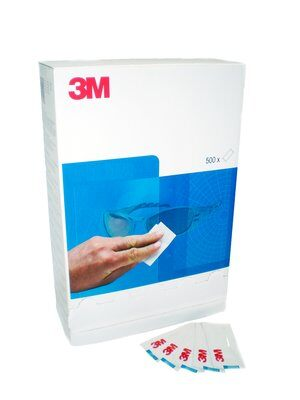 Салфетка для очков  3M 26-2000-00M белая