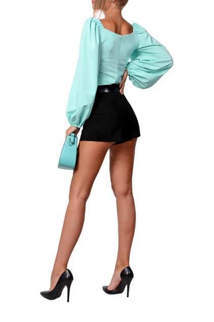 Блуза женская FRANCESCA LUCINI F14872 зеленая 48
