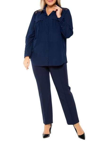 Блуза женская KR 4270 синяя 64