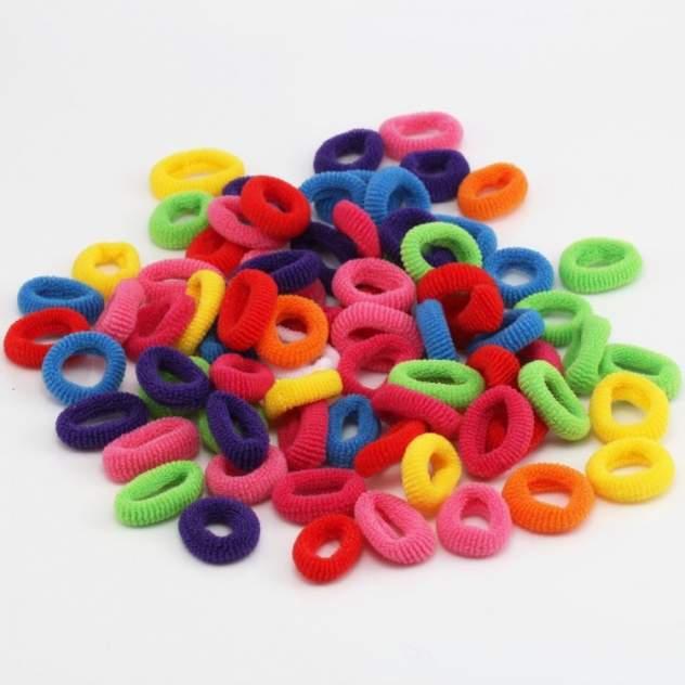 Резинки для волос COSY цветные, 100 шт