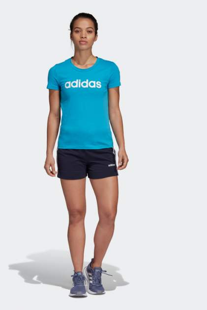Шорты женские Adidas DU0671 синие 38