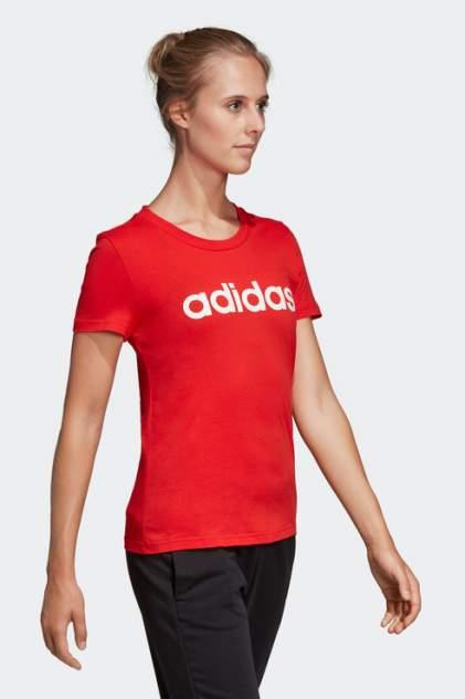 Футболка женская Adidas DU0631 красная 38