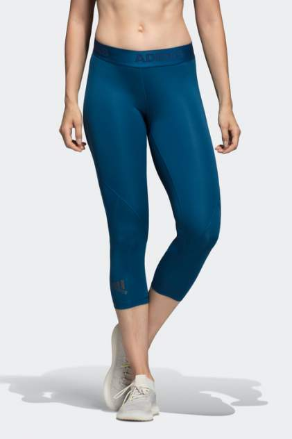 Бриджи женские Adidas DU6518 синие 38