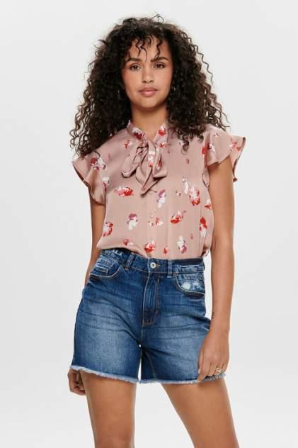 Блуза женская ONLY 15171216 розовая 40