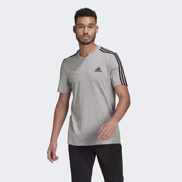 Футболка Adidas M 3S Sj T, серый