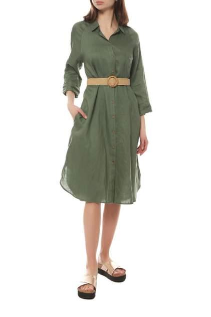 Платье-рубашка женское SALKO 45/22/20 зеленое 46