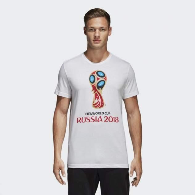 Футболка Adidas WC Emblem, белый