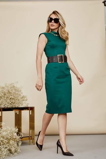 Платье женское AVEMOD AV 1011 зеленое 44