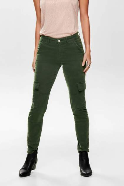 Брюки женские ONLY 15184505 зеленые 42