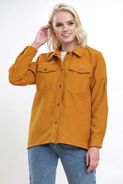 Женская рубашка Hochusebetakoe ST 176, желтый