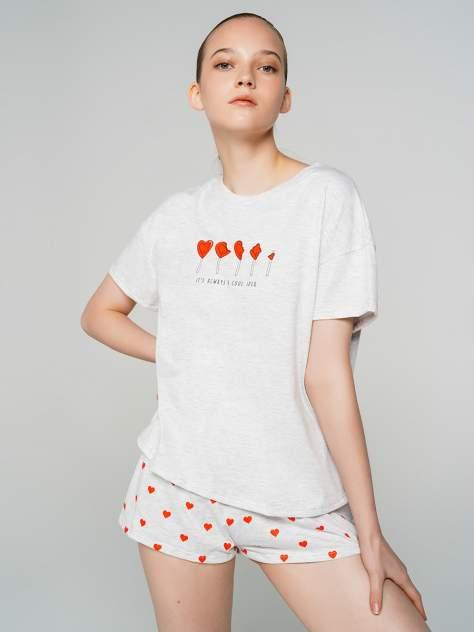 Пижама женская ТВОЕ 71704 белая XS
