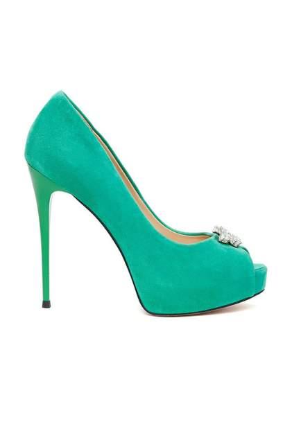 Туфли женские Vitacci 48687 зеленые 38 RU
