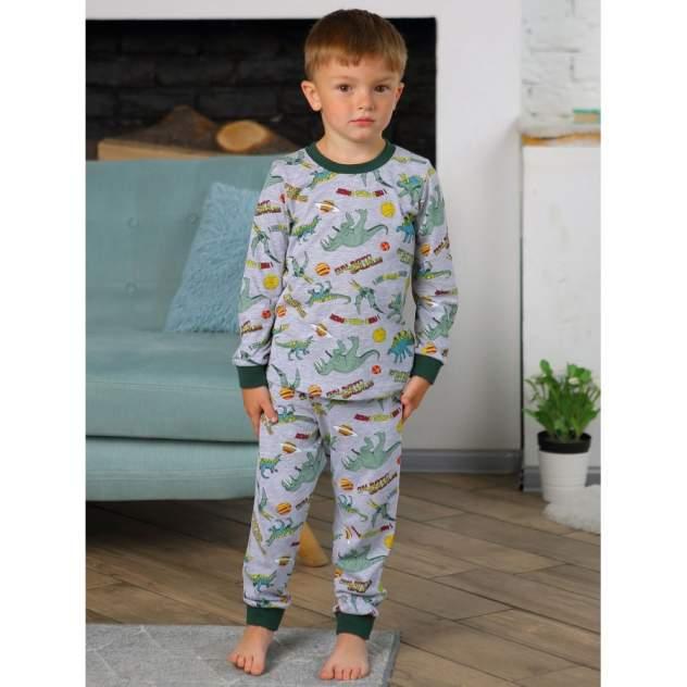 Пижама детская KOTTONI, цв. серый