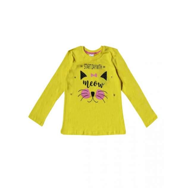 Джемпер для девочек Bella veza цв. желтый, р. 116