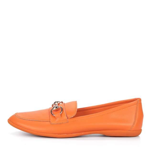 Лоферы женские Respect S20F62-01 оранжевые 37 RU