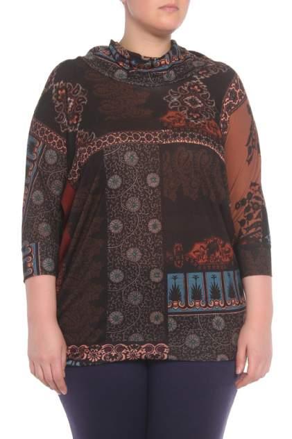 Женская блуза DONATELLA VIA ROMA I14_MD44900MA, коричневый