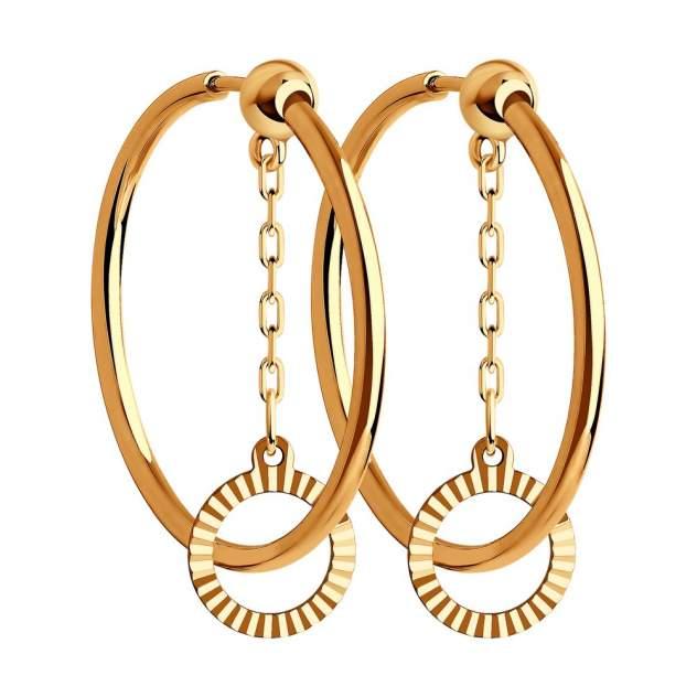 Серьги женские из золота SOKOLOV 028858