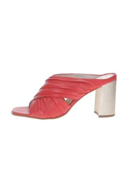 Сабо женские Hogl 5107870 красные 38.5 RU