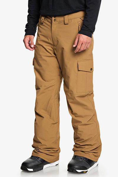 Сноубордические штаны Porter Quiksilver, бежевый, XL