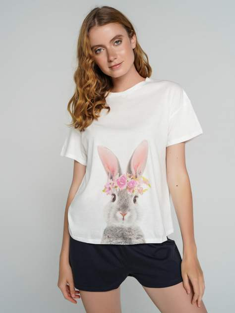 Пижама женская ТВОЕ 73814 белая XL
