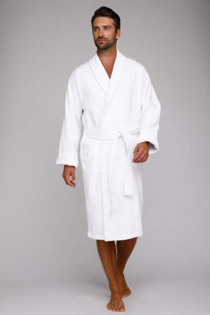 Домашний халат мужской EvaTeks King Power белый L