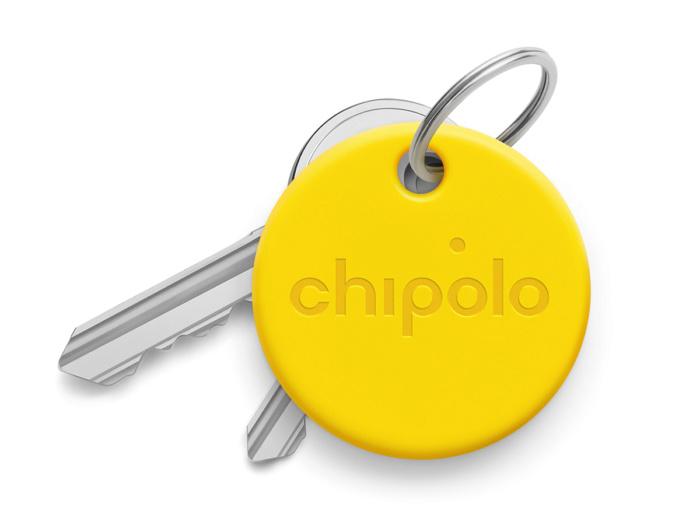 Умный брелок Chipolo ONE со сменной батарейкой желтый